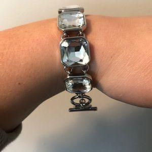 Retro glam square cut bracelet by C+I